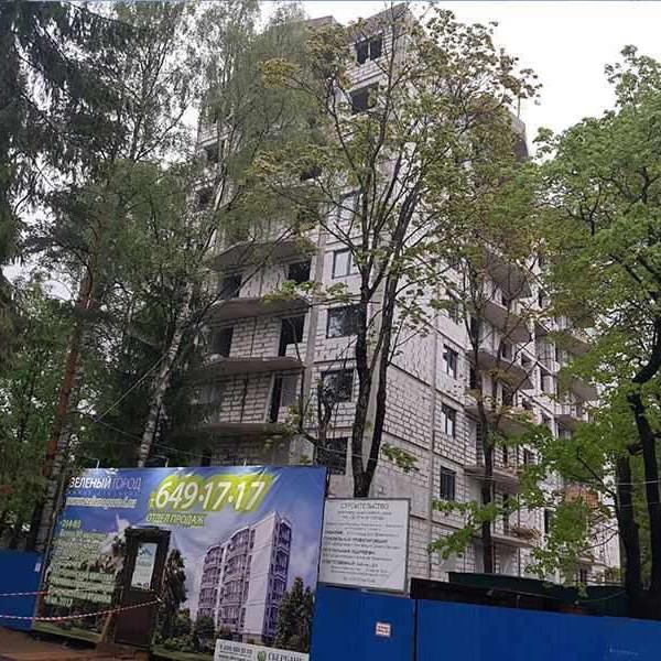 жилой комплекс Зеленый город цены